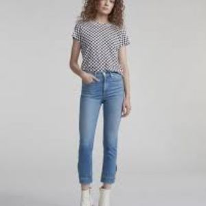 RAG & BONE Avery Cuffed Cigarette Jeans